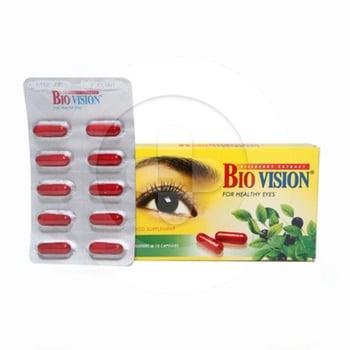 Biovision kapsul adalah suplemen untuk memelihara kesehatan mata