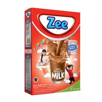 Susu Zee Peninggi Badan, Zee Reguler Swizz Chocolate Milk 350 g
