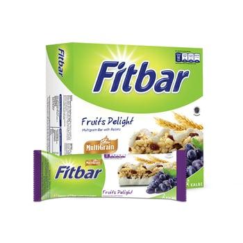 Fitbar Multigrain Fruits 5 x 24 g harga terbaik