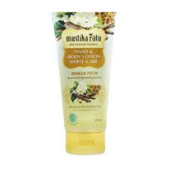 Mustika Ratu Hand & Body Lotion Mangir Putih 150 ml harga terbaik 21400