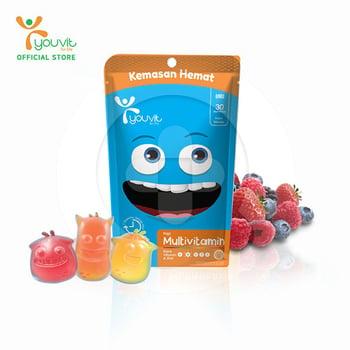 Youvit Multivitamin Gummy Anak 30 Days - 30pcs harga terbaik 59900