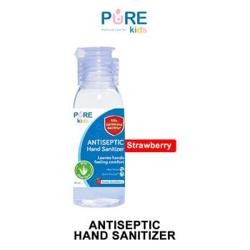Pure Kids Antiseptic Hand Sanitizer Strawberry 50 ml harga terbaik 9902