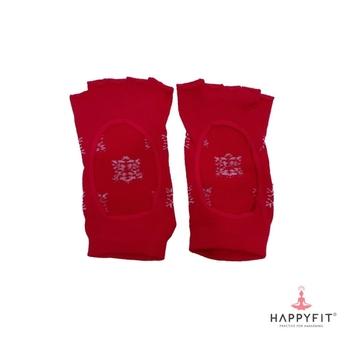 Happyfit Yoga Socks Open Finger With Flower - Pink harga terbaik 80000