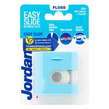 Jordan Floss Easy Slide Dental Tape 30 m  harga terbaik