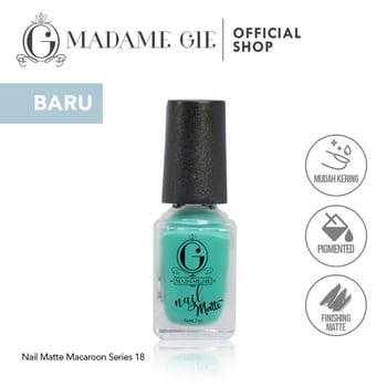 Madame Gie Nail Matte 18 Maccaherone harga terbaik 7200