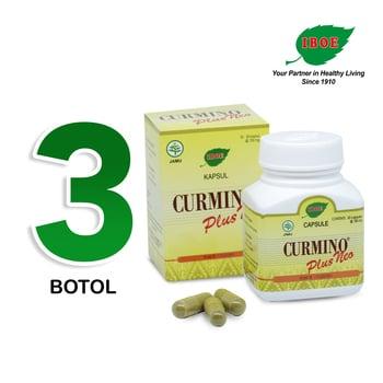 Jamu IBOE - 3 Botol Curmino Plus Neo Herbal Supplement 30 Kapsul harga terbaik