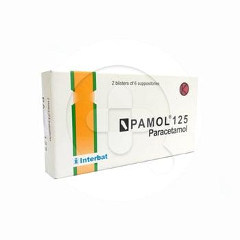 Pamol suppositoria digunakan untuk meringankan demam dan nyeri jika tidak memungkinkan untuk diberikan obat minum