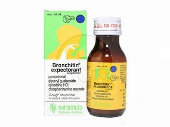 Bronchitin Expectorant Sirup 50 mL harga terbaik 7426