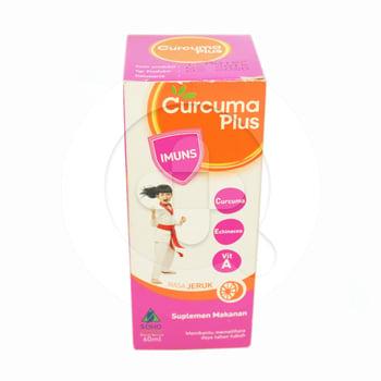Curcuma Plus Imuns Sirup 60 ml harga terbaik 14511