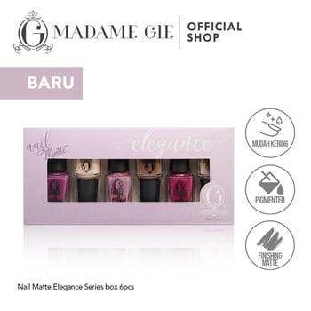 Madame Gie Nail Matte Elegance 1 set  harga terbaik 36100
