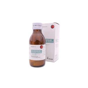 Kalmoxilin Dry Sirup dalah obat untuk pengobatan infeksi yang disebabkan oleh bakteri