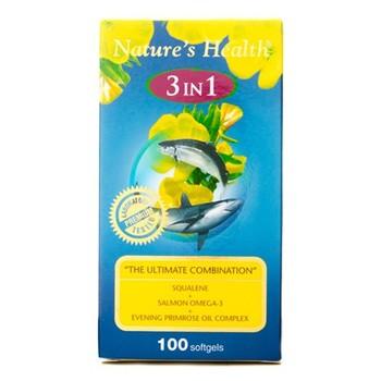 Nature's Health Squalene Omega EPO 3 In 1 Softgel  harga terbaik 488000