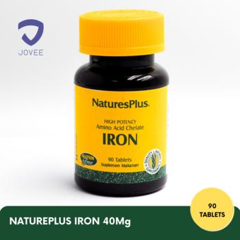 Nature's Plus Iron Tablet 40 mg  harga terbaik