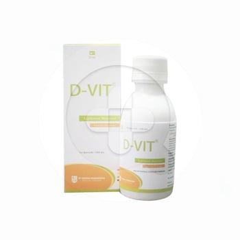 D-Vit Sirup 100 ml harga terbaik