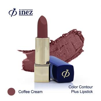 Inez Color Contour Plus Lipstick - Coffee Cream harga terbaik