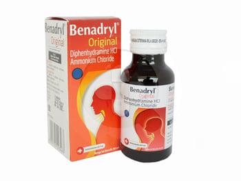 Benadryl adalah obat untuk meredakan batuk dan gejala lain yang timbul pada saluran pernapasan atas