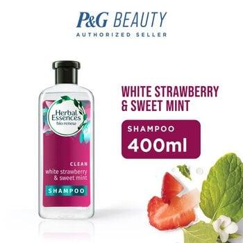 Herbal Essences Shampoo Bio Renew White Strawberry & Sweet Mint 400 ml harga terbaik 99900
