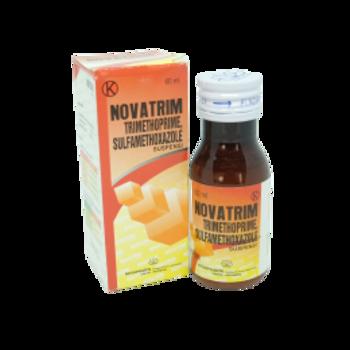 Novatrim suspensi 60 ml adalah obat yang berguna untuk pengobatan infeksi saluran pernafasan, saluran kemih, saluran pencernaan, dan infeksi THT