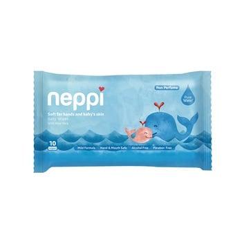 Neppi Baby Wipes Non Parfum 10s  harga terbaik 7500
