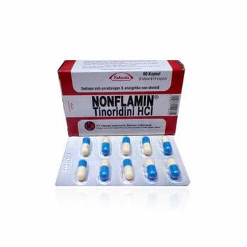 Nonflamin kapsul adalah obat untuk mengatasi nyeri dan peradangan