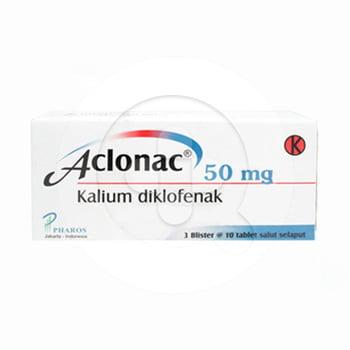 Aclonac Tablet 50 mg (3 Strip @ 10 Tablet)