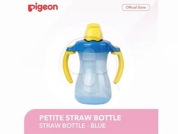 Pigeon Petite Straw Bottle - Blue harga terbaik 73500
