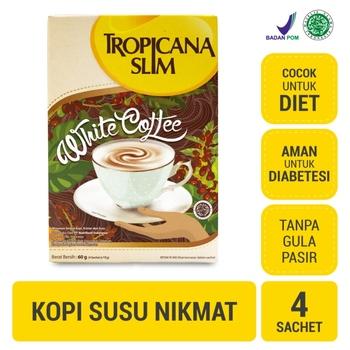 Tropicana Slim White Coffee  harga terbaik 21200