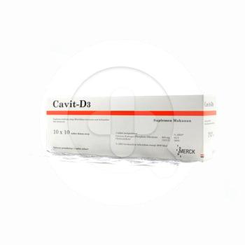 Cavit D3 Tablet 1 strip