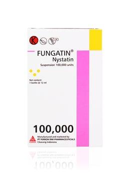 Fungatin drops adalah obat untuk mengatasi  infeksi jamur Candida atau kandidiasis