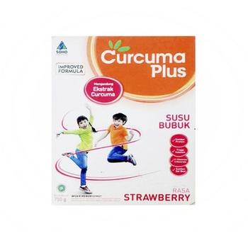 Curcuma Plus Susu Rasa Strawberry  harga terbaik