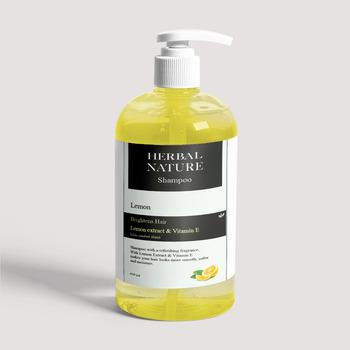 Herbal Nature Lemon Shampoo 500 ml harga terbaik 145000
