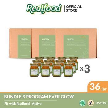 Realfood Ever Glow Program Triple Bundle harga terbaik