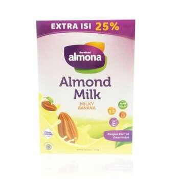 Almona - Almond Milk Powder Milky Banana 175 g harga terbaik 39000