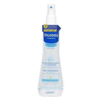 Mustela Bebe Skin Freshener Hair and Body 200 ml harga terbaik