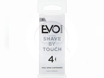 EVOSHAVE Cartridge Pack - Refill Pisau Cukur Isi 4 Pcs harga terbaik 38000