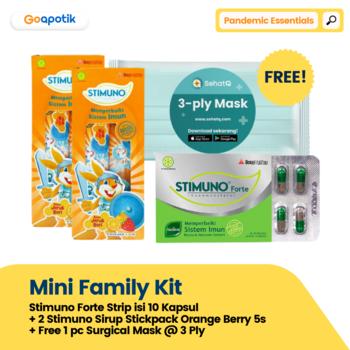 GoA Mini Family Kit - Pandemic Essential harga terbaik