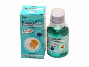 Hexadol Mint Larutan 100 mL harga terbaik 31168