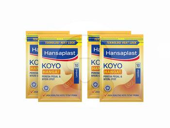 BELI 3 GRATIS 1 Hansaplast Koyo Hangat Resealable 10's harga terbaik 18900