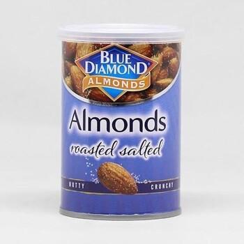 Blue Diamond Almond Roasted Salted 130 g - Almond Asin Panggang harga terbaik 59900