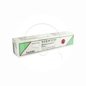 Formyco krim 10 g adalah obat untuk pengobatan infeksi dermatofit pada kulit.