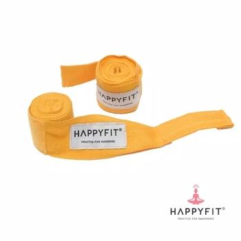 Happyfit Boxing Hand Wraps 274 cm - Yellow harga terbaik 90000