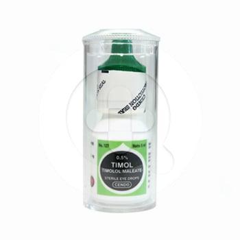 Cendo Timol tetes mata adalah obat untuk mengobati tekanan bola mata terhadap dinding bola mata