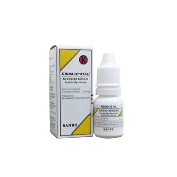 Crom-Opthal tetes mata digunakan untuk mengatasi peradangan pada mata.