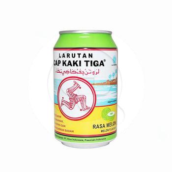 Cap Kaki Tiga Larutan Penyegar Rasa Melon - Kaleng 320 ml harga terbaik 6406