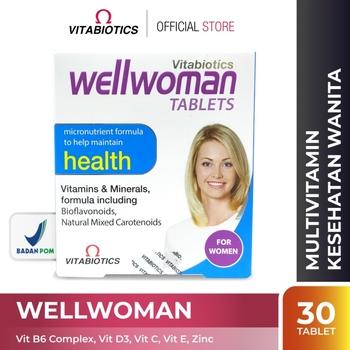 Vitabiotics Wellwoman Tablet  harga terbaik 261000