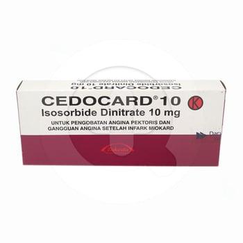 Cedocard tablet adalah obat untuk mengatasi serangan nyeri dada pada pasien penyakit jantung