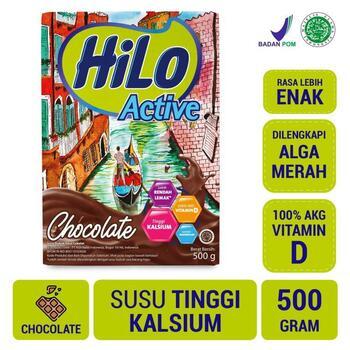 HiLo Active Chocolate 500 g harga terbaik 95000