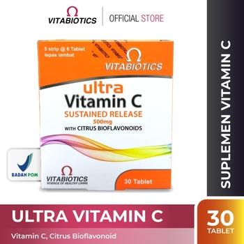Vitabiotics Ultra Vitamin C Tablet 500 mg  harga terbaik