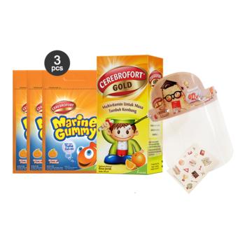 Paket Omega 3 : Cerebrofort Orange x Big Bear harga terbaik