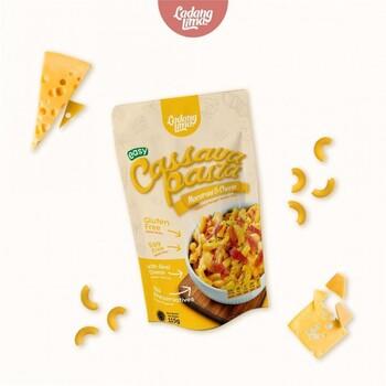 Ladang Lima Cassava Pasta Macaroni & Cheese 120 g harga terbaik 26000